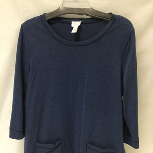 Primary Photo - BRAND: CHICOS STYLE: TOP LONG SLEEVE COLOR: NAVY SIZE: M SKU: 155-15545-203803