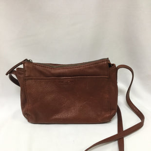 Primary Photo - BRAND:    CLOTHES MENTOR STYLE: HANDBAG LEATHER COLOR: CARAMEL SIZE: SMALL OTHER INFO: AMERICAN LEATHER CO. - SKU: 155-155130-214268