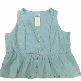 Primary Photo - BRAND: UNIVERSAL THREAD STYLE: TOP SLEEVELESS COLOR: SEAFOAM SIZE: 1X SKU: 155-155185-9738