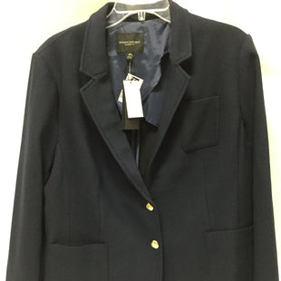 Primary Photo - BRAND: BANANA REPUBLIC STYLE: BLAZER JACKET COLOR: NAVY SIZE: 1X OTHER INFO: NEW! SKU: 155-155130-210130