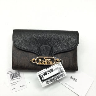 Primary Photo - BRAND: COACH STYLE: WALLET COLOR: BROWN SIZE: MEDIUM SKU: 155-155185-8338