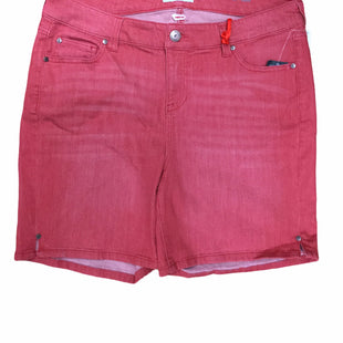 Primary Photo - BRAND:    CLOTHES MENTOR STYLE: SHORTS COLOR: CORAL SIZE: 16 OTHER INFO: MOLLY & ISADORA - SKU: 155-155130-212795