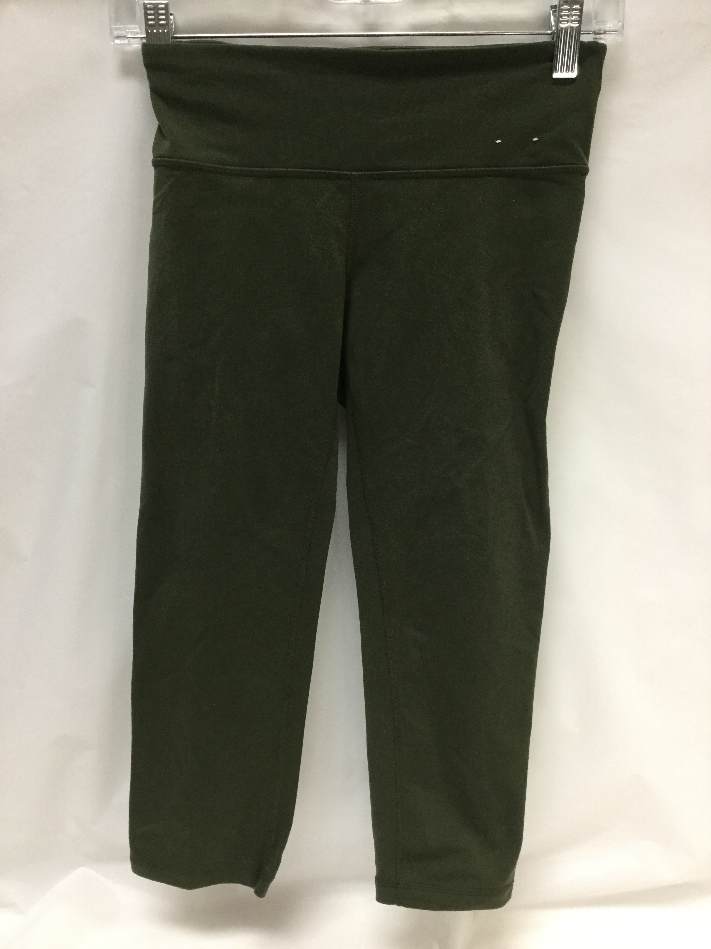 Primary Photo - BRAND: GAPFIT <BR>STYLE: ATHLETIC CAPRIS <BR>COLOR: OLIVE <BR>SIZE: S <BR>SKU: 155-155224-2756