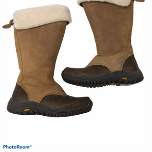 Primary Photo - BRAND: UGG STYLE: BOOTS KNEE COLOR: BROWN SIZE: 11 OTHER INFO: MINOR TOE WEAR SKU: 155-155224-21119
