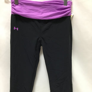 Primary Photo - BRAND: UNDER ARMOUR STYLE: ATHLETIC CAPRIS COLOR: BLACK SIZE: S SKU: 155-155130-214428
