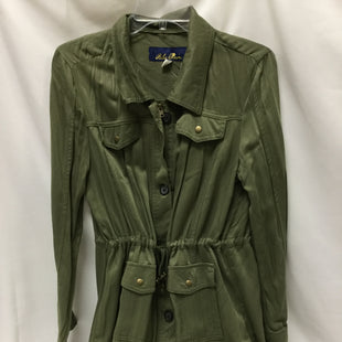 Primary Photo - BRAND: BLUE RAIN STYLE: BLAZER JACKET COLOR: OLIVE SIZE: M SKU: 155-15545-208322