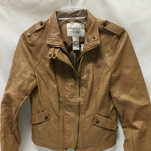 Primary Photo - BRAND: AMERICAN RAG STYLE: BLAZER JACKET COLOR: KHAKI SIZE: M SKU: 155-15599-238547