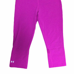Primary Photo - BRAND: UNDER ARMOUR STYLE: ATHLETIC CAPRIS COLOR: RASPBERRY SIZE: M SKU: 155-155224-24274