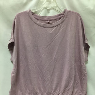 Primary Photo - BRAND: LOU AND GREY BY LOFT STYLE: TOP SHORT SLEEVE COLOR: MAUVE SIZE: XL SKU: 155-155220-4965