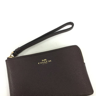 Primary Photo - BRAND: COACH STYLE: WRISTLET COLOR: BROWN SIZE: 16 SKU: 155-155187-24204