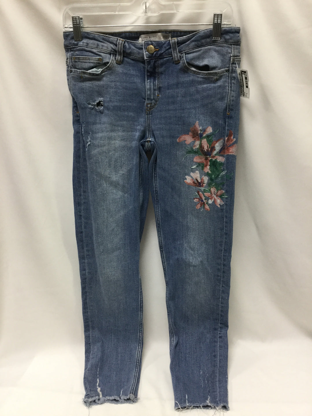Primary Photo - BRAND: ZARA BASIC <BR>STYLE: JEANS <BR>COLOR: DENIM <BR>SIZE: 6 <BR>SKU: 155-15545-200925