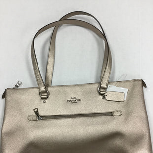 Primary Photo - BRAND: COACH STYLE: HANDBAG DESIGNER COLOR: GOLD SIZE: LARGE OTHER INFO: MINOR CORNER WEAR SKU: 155-155224-18770