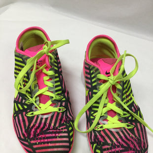 Primary Photo - BRAND: NIKE APPAREL STYLE: SHOES ATHLETIC COLOR: PINK SIZE: 5.5 SKU: 155-15599-229996