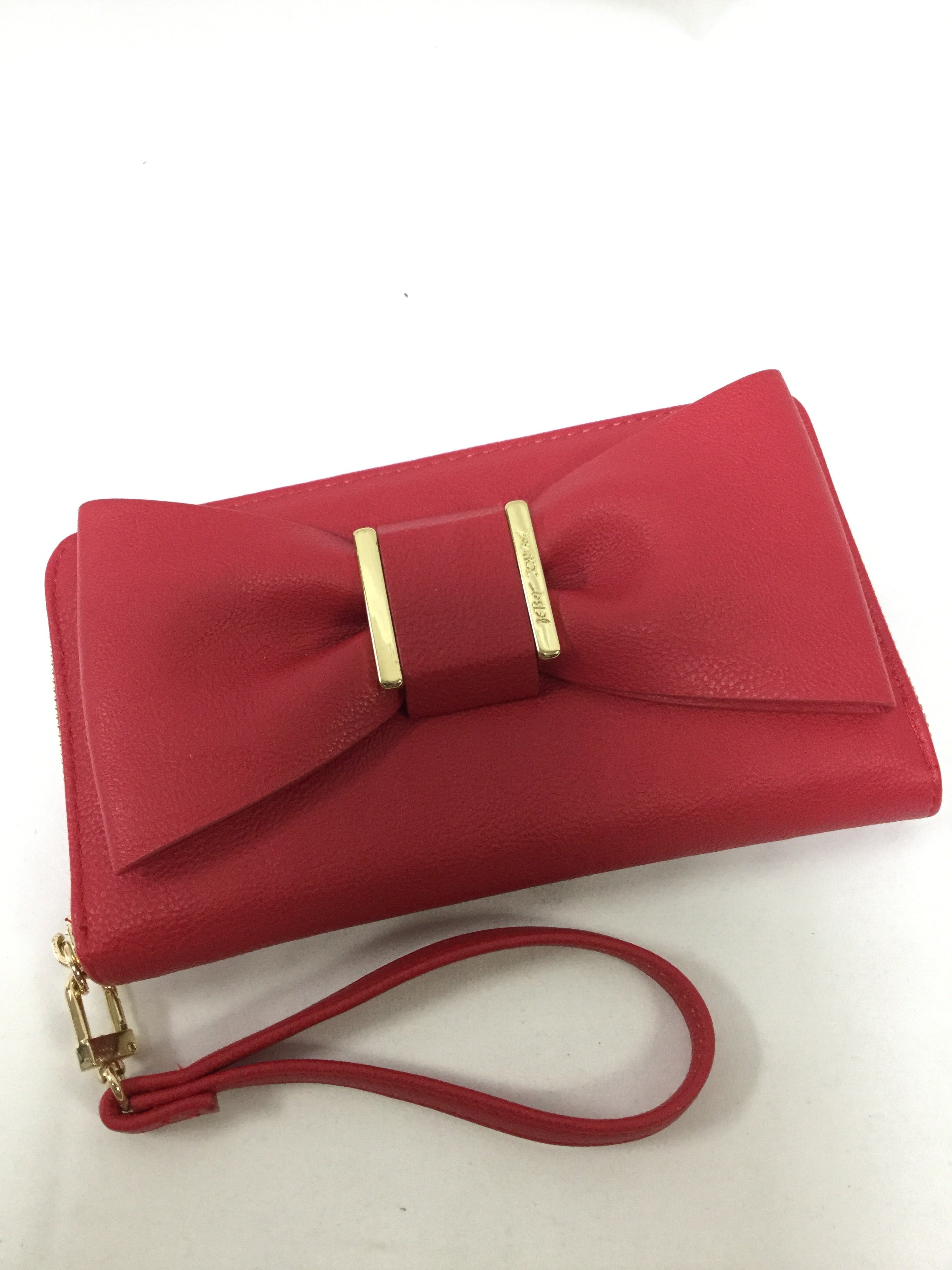 Primary Photo - BRAND: BETSEY JOHNSON <BR>STYLE: WALLET <BR>COLOR: RED <BR>SIZE: LARGE <BR>SKU: 155-15599-235818