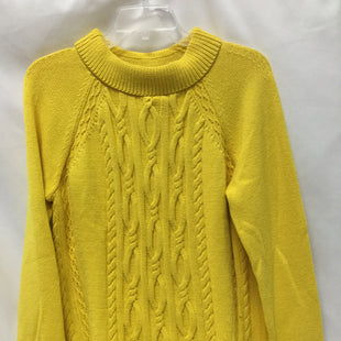 Primary Photo - BRAND: TALBOTS STYLE: SWEATER HEAVYWEIGHT COLOR: YELLOW SIZE: L SKU: 155-155228-1809