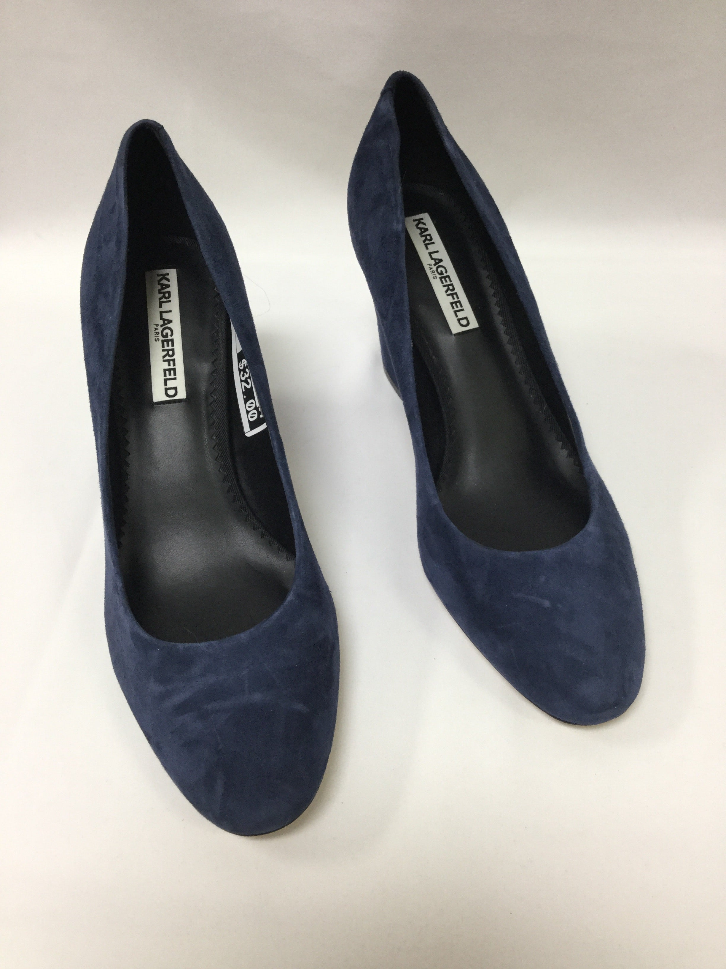 Primary Photo - BRAND: KARL LAGERFELD <BR>STYLE: SHOES HIGH HEEL <BR>COLOR: BLUE <BR>SIZE: 9 <BR>SKU: 155-15599-233708