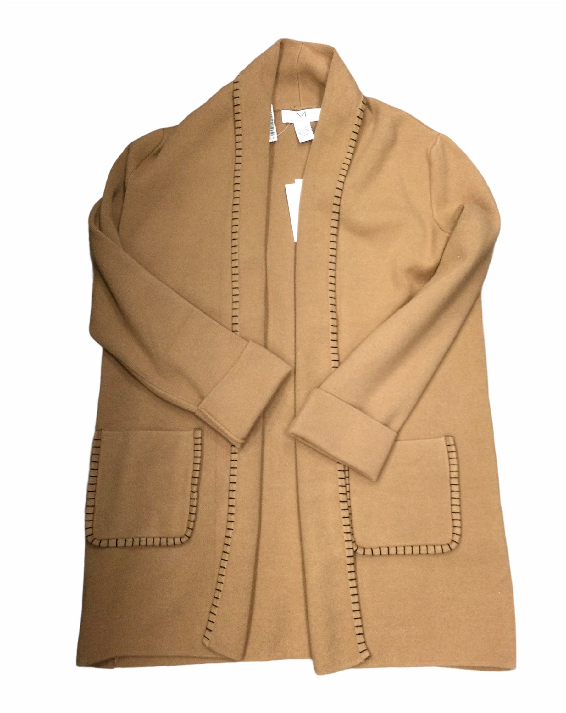 Primary Photo - BRAND:   CMC <BR>STYLE: BLAZER JACKET <BR>COLOR: TAN <BR>SIZE: L <BR>OTHER INFO: MAGASCHONI - <BR>SKU: 155-155187-25078