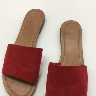 Primary Photo - BRAND: GAP STYLE: SANDALS FLAT COLOR: RED SIZE: 9 SKU: 155-155163-124408
