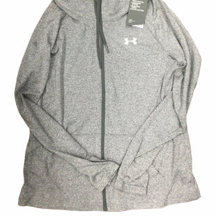 Primary Photo - BRAND: UNDER ARMOUR STYLE: ATHLETIC TOP COLOR: GREY SIZE: M SKU: 155-15599-248332