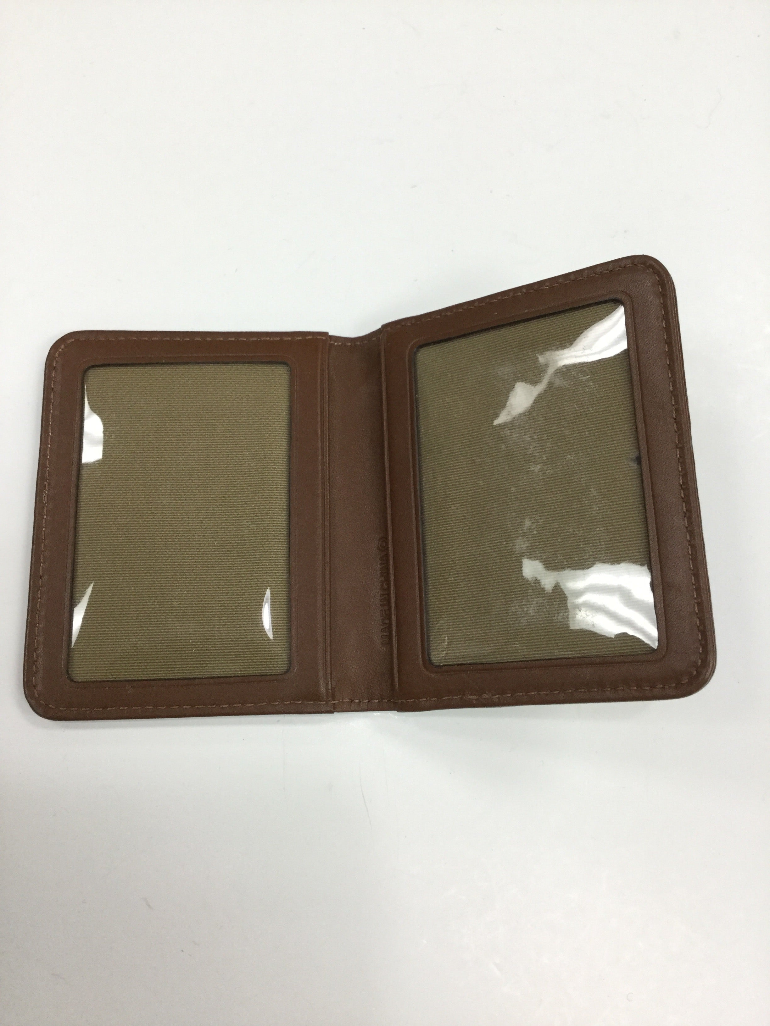 Photo #1 - BRAND: COACH <BR>STYLE: WALLET <BR>COLOR: BROWN <BR>SIZE: SMALL <BR>SKU: 155-155201-11748