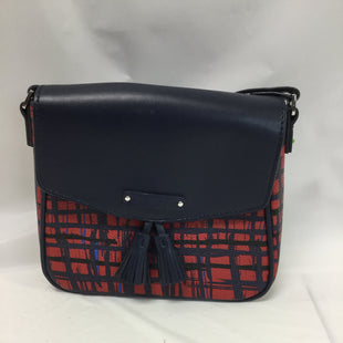 Primary Photo - BRAND: VERA BRADLEY STYLE: HANDBAG COLOR: RED SIZE: SMALL SKU: 155-15545-201892RED & BLUE PLAID LIKE PATTERNSTRAP APPROX.24'8X8 APPROX.DIMENSION
