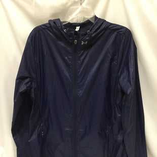 Primary Photo - BRAND: UNDER ARMOUR STYLE: ATHLETIC JACKET COLOR: BLUE SIZE: XL SKU: 155-155220-4525