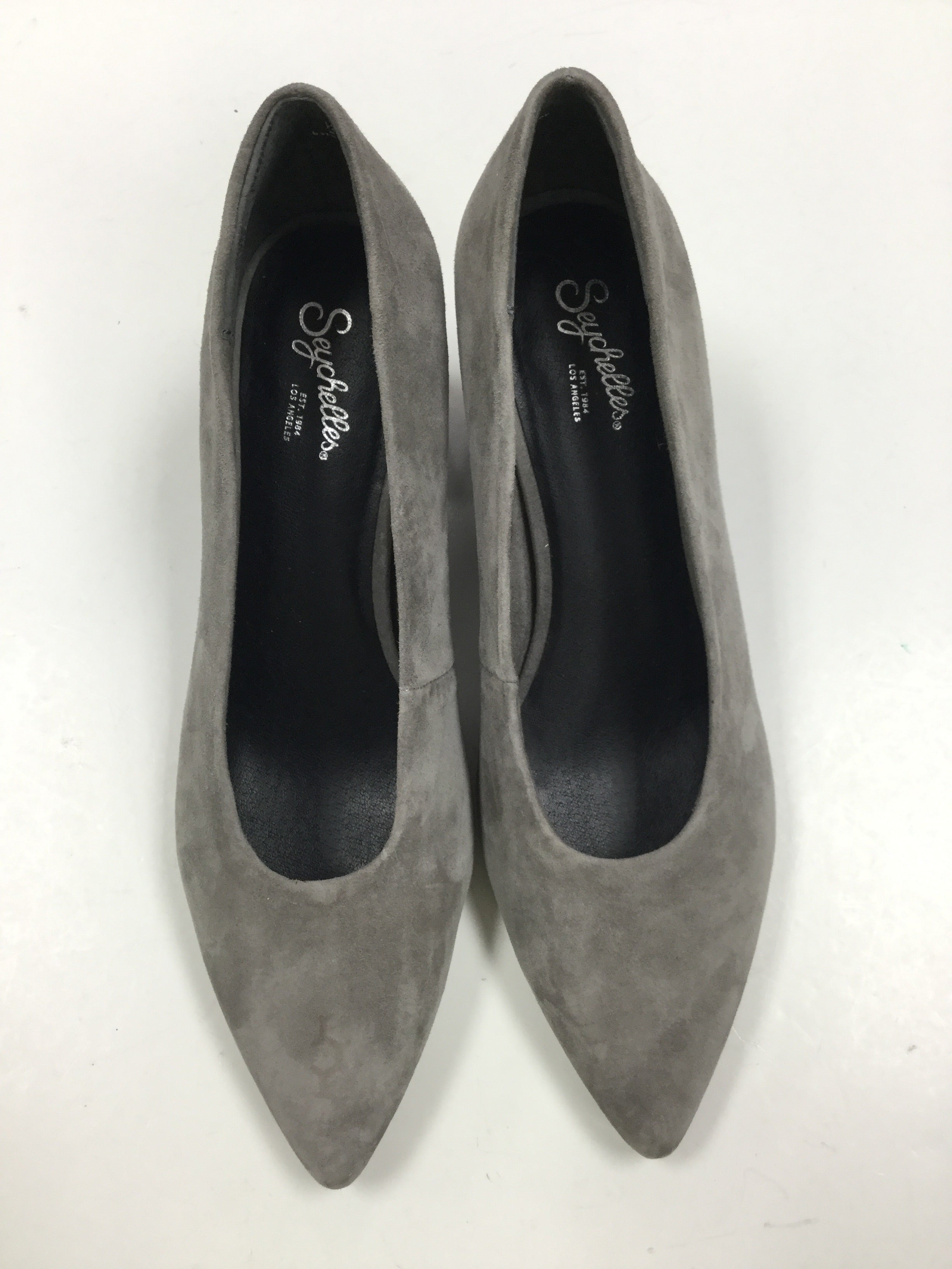 Primary Photo - BRAND: SEYCHELLES <BR>STYLE: SHOES HIGH HEEL <BR>COLOR: GREY <BR>SIZE: 8.5 <BR>SKU: 155-155224-12574