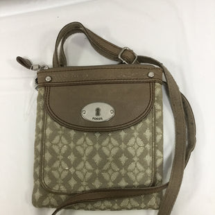 Primary Photo - BRAND: FOSSIL STYLE: HANDBAG COLOR: TAN SIZE: SMALL SKU: 155-155227-431
