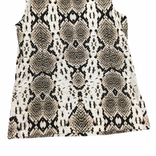 Primary Photo - BRAND: TALBOTS STYLE: TOP SLEEVELESS COLOR: SNAKESKIN PRINT SIZE: PETITE   SMALL SKU: 155-155224-21190