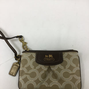 Primary Photo - BRAND: COACH STYLE: WRISTLET COLOR: BROWN SKU: 155-155224-18522