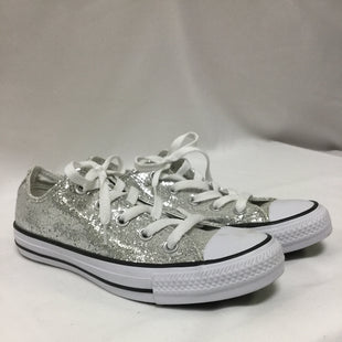 Primary Photo - BRAND: CONVERSE STYLE: SHOES ATHLETIC COLOR: SILVER SIZE: 6 SKU: 155-15545-208909