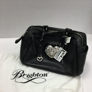 Primary Photo - BRAND: BRIGHTON STYLE: HANDBAG COLOR: BLACK SIZE: MEDIUM OTHER INFO: LITTLE TARNISH SKU: 155-155220-8220