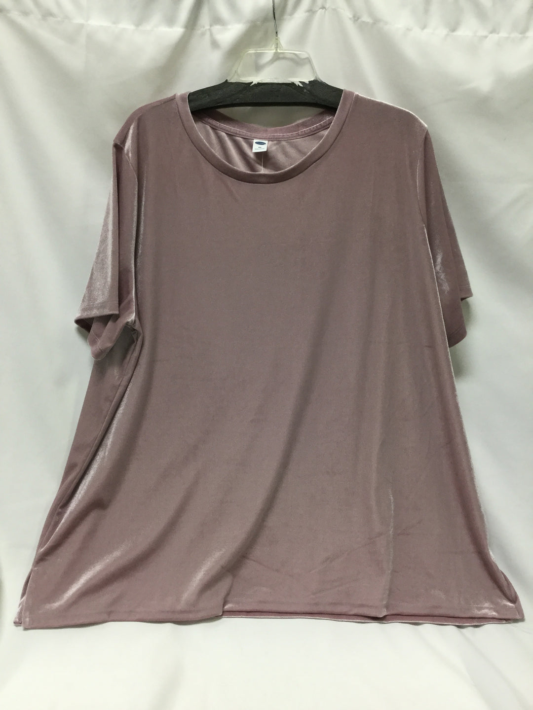 Primary Photo - BRAND: OLD NAVY <BR>STYLE: TOP SHORT SLEEVE <BR>COLOR: DUSTY PINK <BR>SIZE: 1X <BR>SKU: 155-155130-212088