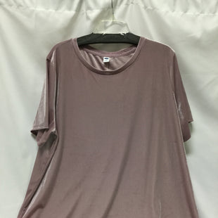 Primary Photo - BRAND: OLD NAVY STYLE: TOP SHORT SLEEVE COLOR: DUSTY PINK SIZE: 1X SKU: 155-155130-212088