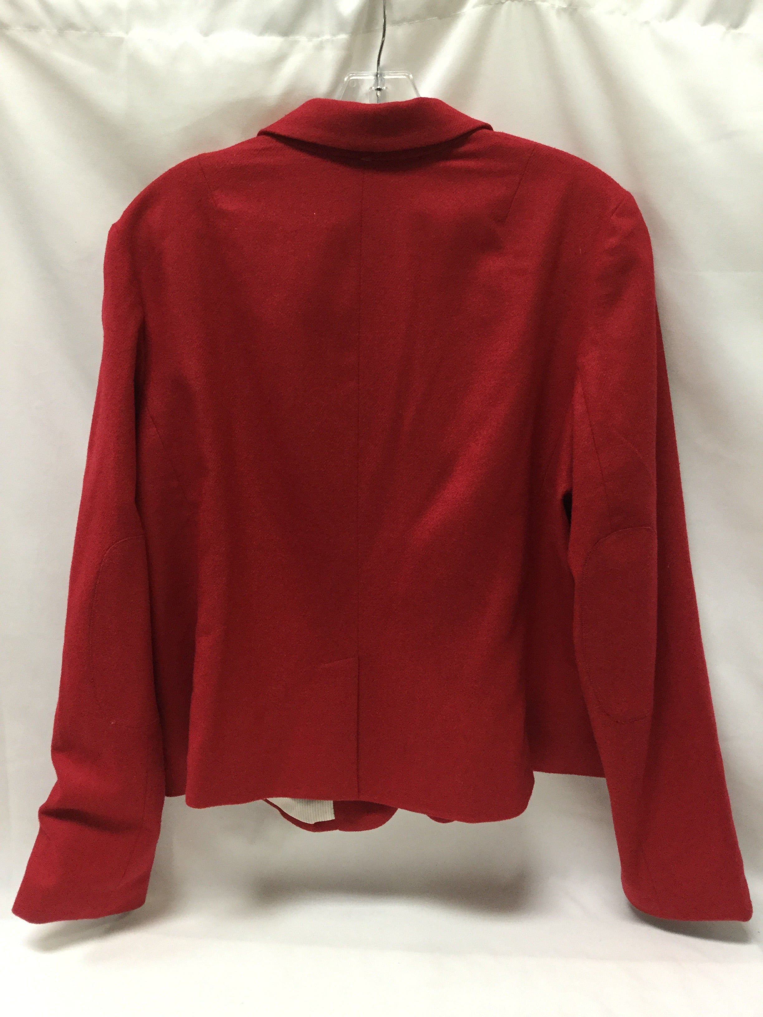 Photo #2 - BRAND: GAP <BR>STYLE: BLAZER JACKET <BR>COLOR: RED <BR>SIZE: 1X <BR>SKU: 155-15599-228309
