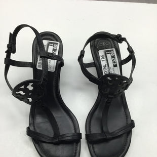 Primary Photo - BRAND: TORY BURCH STYLE: SANDALS LOW COLOR: BLACK SIZE: 7 OTHER INFO: SLIGHT WEAR SKU: 155-155220-3145