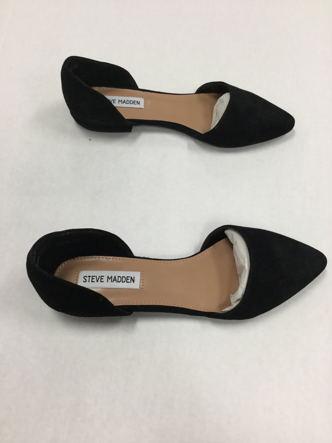 Photo #1 - BRAND: STEVE MADDEN <BR>STYLE: SHOES FLATS <BR>COLOR: BLACK <BR>SIZE: 7.5 <BR>SKU: 155-155220-3634