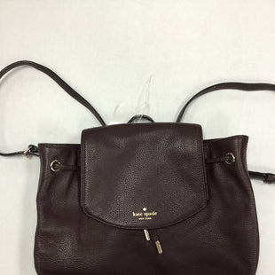 Primary Photo - BRAND: KATE SPADE STYLE: BACKPACK COLOR: BURGUNDY SIZE: MEDIUM SKU: 155-155224-15166