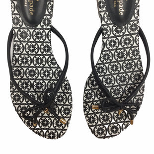 Primary Photo - BRAND: KATE SPADE STYLE: SANDALS LOW COLOR: BLACK SIZE: 9.5 OTHER INFO: NOTED SCUFFS ON LABEL SKU: 155-155215-5038