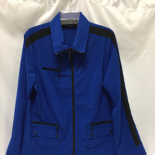 Primary Photo - BRAND: LAURA ASHLEY STYLE: ATHLETIC JACKET COLOR: ROYAL BLUE SIZE: XL SKU: 155-155224-15004