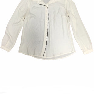 Primary Photo - BRAND: ANN TAYLOR LOFT STYLE: TOP LONG SLEEVE COLOR: CREAM SIZE: M SKU: 155-155201-17458