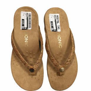Primary Photo - BRAND: VIONIC STYLE: SANDALS LOW COLOR: TAN SIZE: 6 SKU: 155-155130-198031