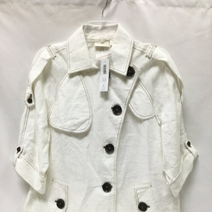 Primary Photo - BRAND: CHICOS STYLE: BLAZER JACKET COLOR: IVORY SIZE: XL SKU: 155-155224-15941