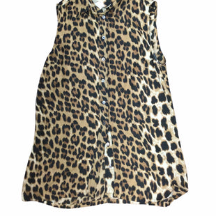 Primary Photo - BRAND: OLIVACEOUS STYLE: TOP SLEEVELESS COLOR: LEOPARD PRINT SIZE: M SKU: 155-155130-210715