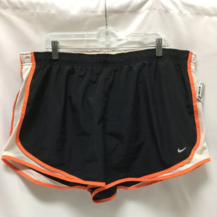 Primary Photo - BRAND: NIKE APPAREL STYLE: ATHLETIC SHORTS COLOR: BLACK SIZE: 2X SKU: 155-155233-296