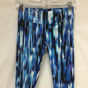 Primary Photo - BRAND: CALVIN KLEIN STYLE: ATHLETIC CAPRIS COLOR: ROYAL BLUE WHITE BLACKSIZE: S SKU: 155-15545-199401