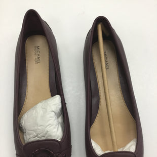 Primary Photo - BRAND: MICHAEL BY MICHAEL KORS STYLE: SHOES FLATS COLOR: MAROON SIZE: 9 SKU: 155-15545-207101
