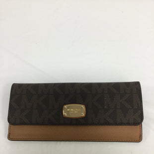 Primary Photo - BRAND: MICHAEL BY MICHAEL KORS STYLE: WALLET COLOR: BROWN SIZE: MEDIUM SKU: 155-155130-203563
