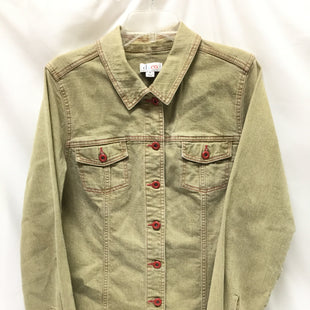 Primary Photo - BRAND: DENIM AND CO QVC STYLE: BLAZER JACKET COLOR: TAN SIZE: M SKU: 155-155201-7003