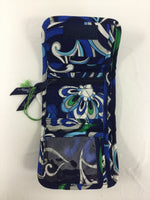 Photo #1 - BRAND: VERA BRADLEY O <BR>STYLE: WALLET <BR>COLOR: BLUE GREEN <BR>SIZE: SMALL <BR>OTHER INFO: NEW! <BR>SKU: 155-155130-203006<BR>POCKET WALLET IN MEDITERRANEAN BLUE
